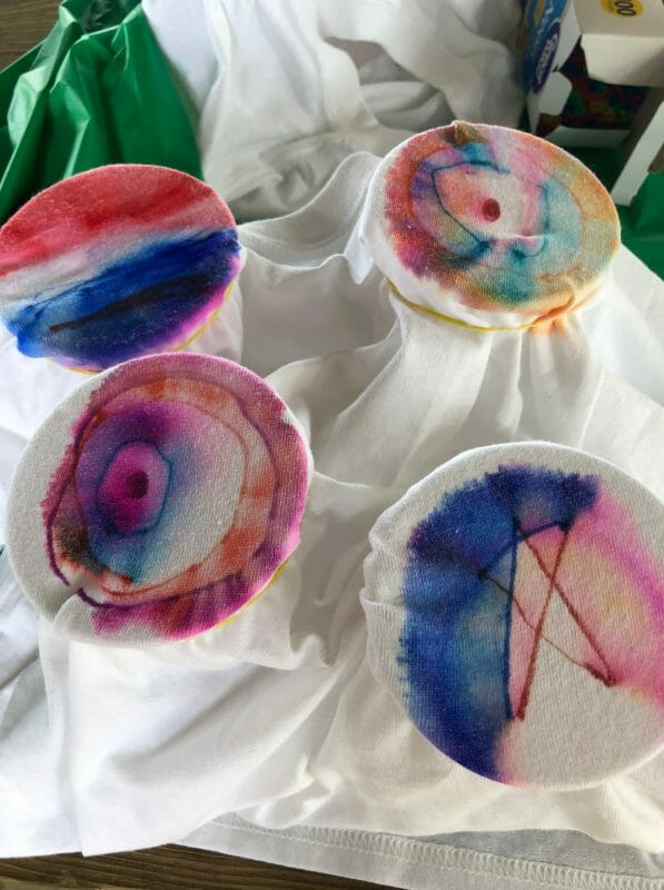 Tie dyed t-shirts